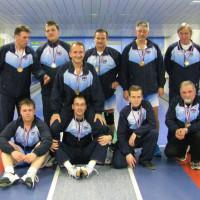 Moška ekipa po zaključku sezone 2012/2013
